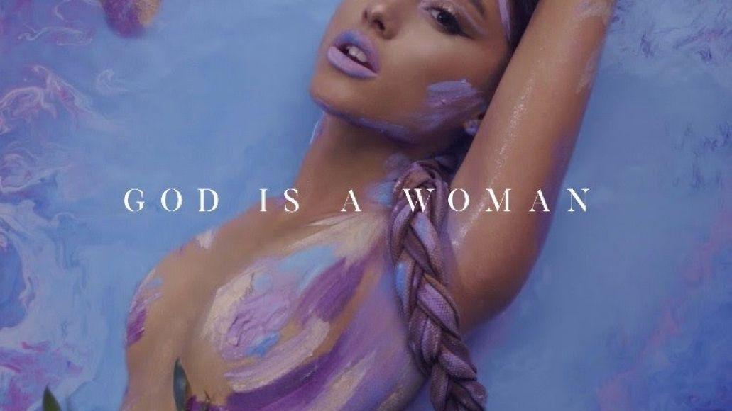 "Ariana Grande's ""God is a Woman"" artwork"