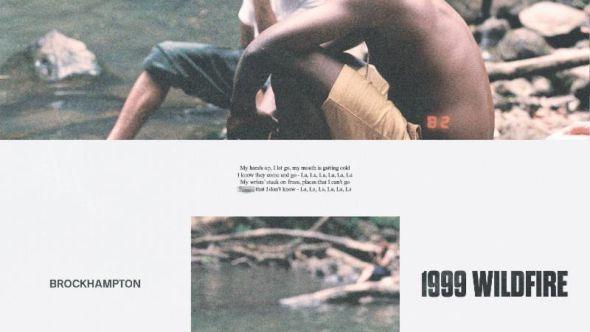 "Artwork for BROCKHAMPTON's ""1999 WILDFIRE"""