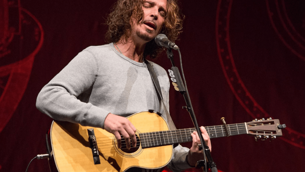 Chris Cornell Statue Seattle