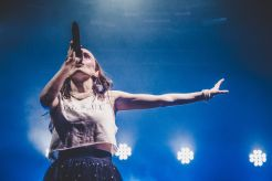 CHVRCHES, NOS Alive 2018, Portugal, Photo by Lior Phillips