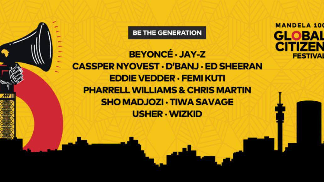 Global Citizen 2018 lineup