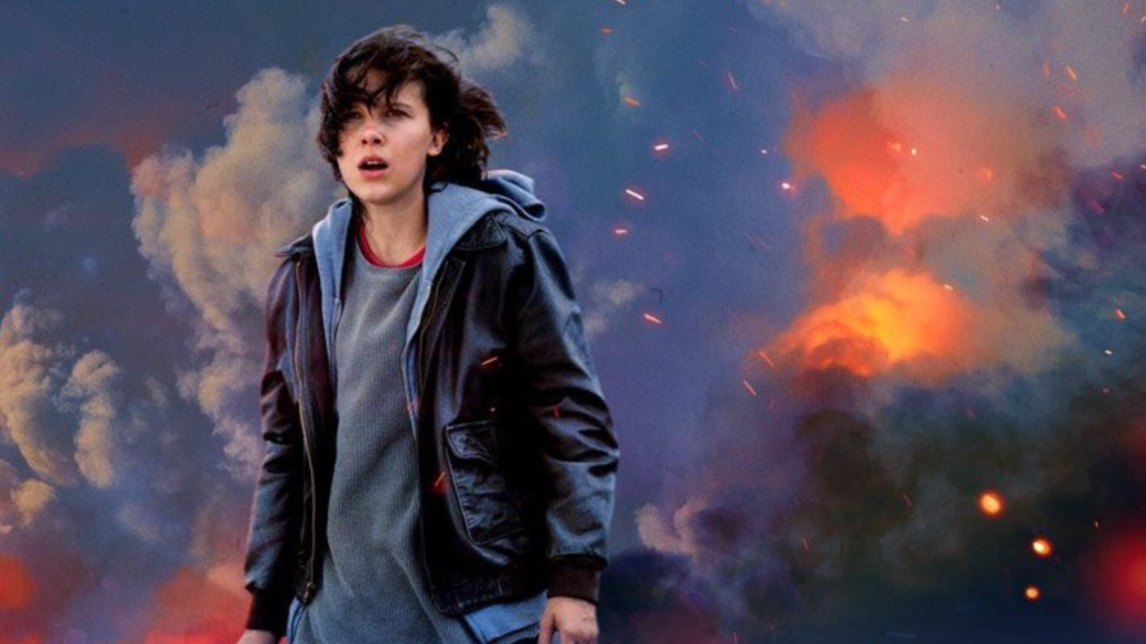 Godzilla King of the Monsters Millie Bobby Brown Teaser Poster Camerman Camera operator