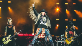 Guns N' Roses hollywood show
