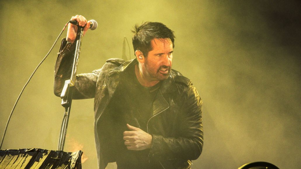Nine Inch Nails, NOS Alive 2018, Portugal, Photo by Lior Phillips