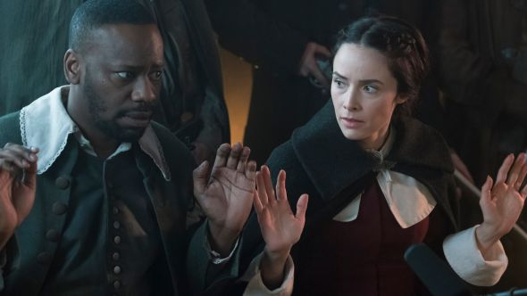 Timeless Malcolm Barrett Abigail Spencer collar witch