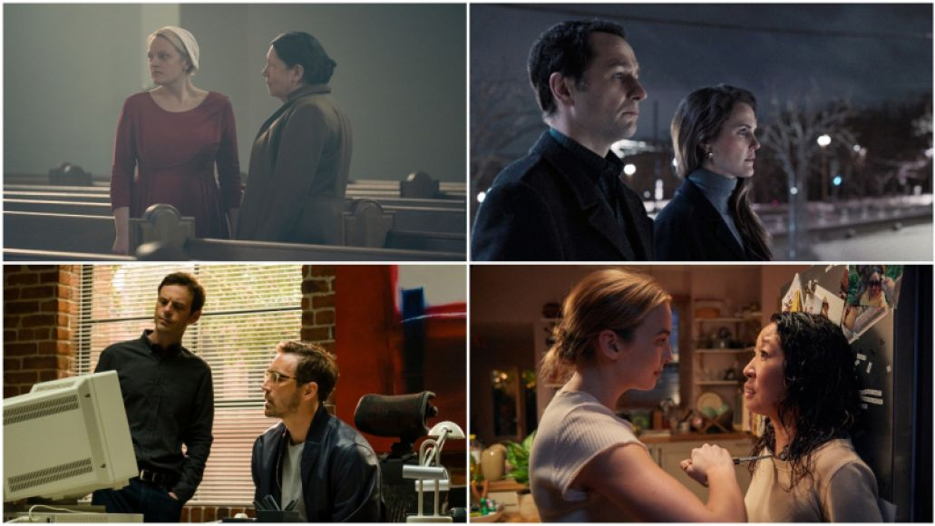 The Handmaid's Tale, The Americans, Halt and Catch Fire, Killing Eve