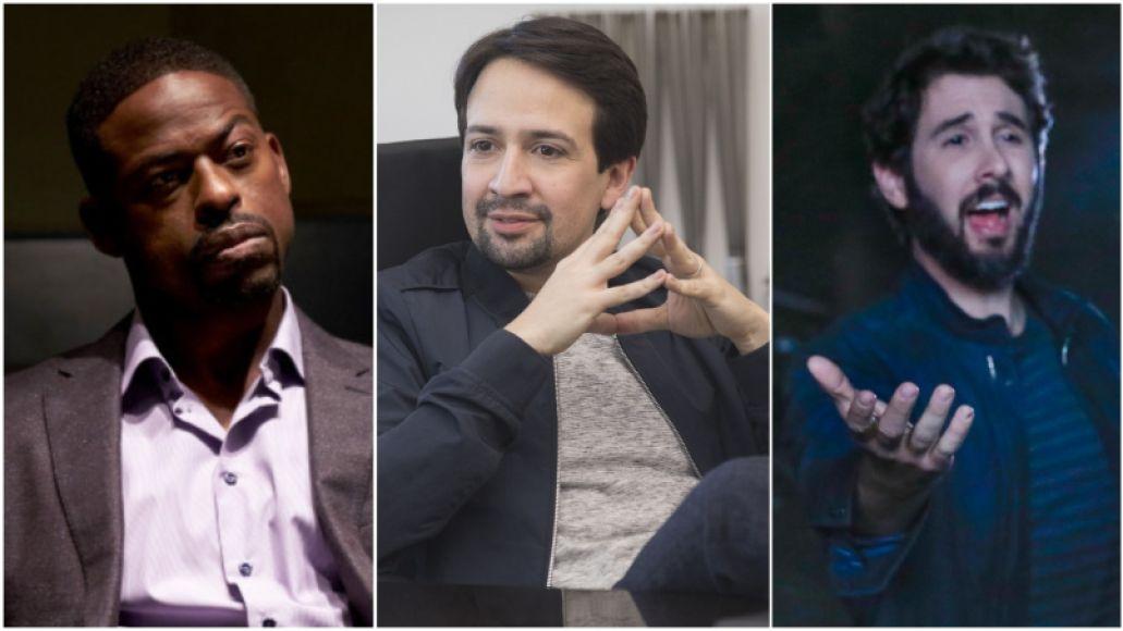 Sterling K. Brown, Lin-Manuel Miranda, Josh Groban