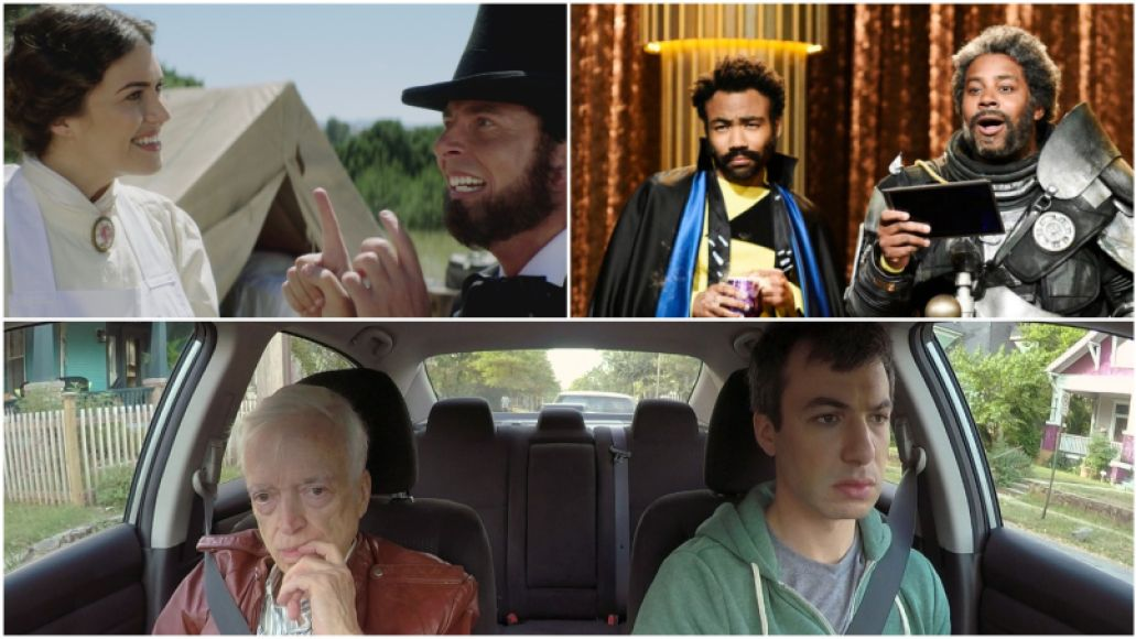 Drunk History, Saturday Night Live, Nathan For You