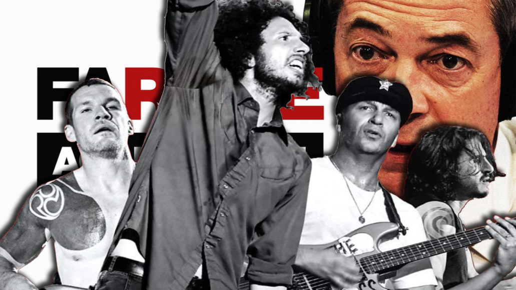 Rage Against the Machine versus Farage Against the Machine podcast Nigel Farage cease and desist