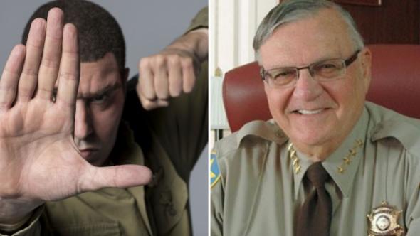 Sacha Baron Cohen Sheriff Joe Arpaio Who is America Duped Interview Prank