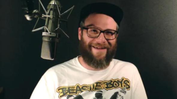 Seth Rogen voice Toronto public transportation