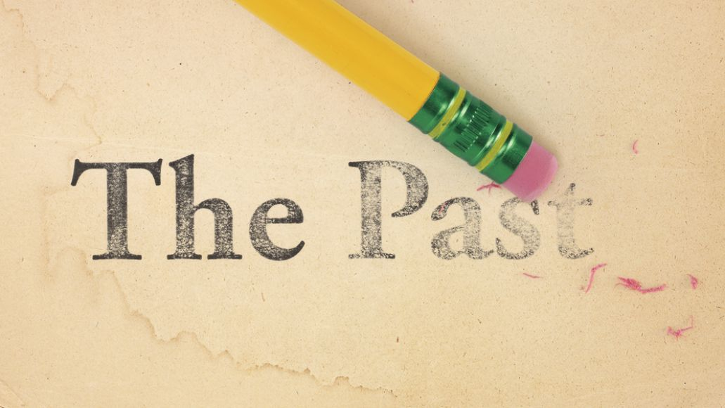 The Past pencil erase