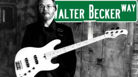 Walter Becker Way Street Sign Queens New York City Honor