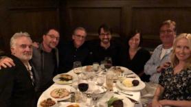 West Wing cast reunites with Aaron Sorkin