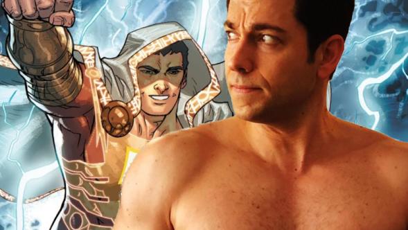 Zacahary Levi Shazam DC Films First Look Superhero Captain Marvel