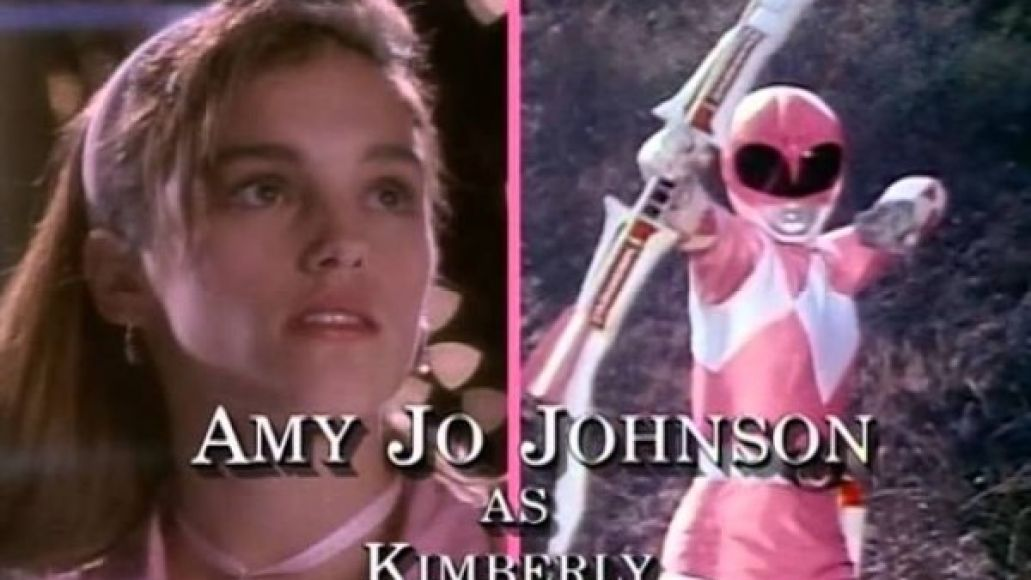 Amy Jo Johnson - Pink Ranger