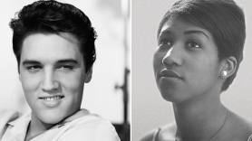 Aretha Franklin and Elvis