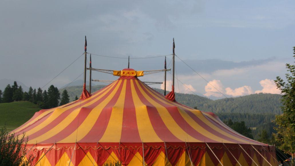 circus tent circus tent wallpaper Slothrust share the Origins of bratty new song Birthday Cake: Stream