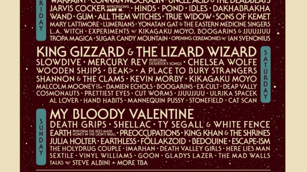 Desert Daze 2018 lineup