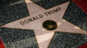 Donald Trump's Hollywood star