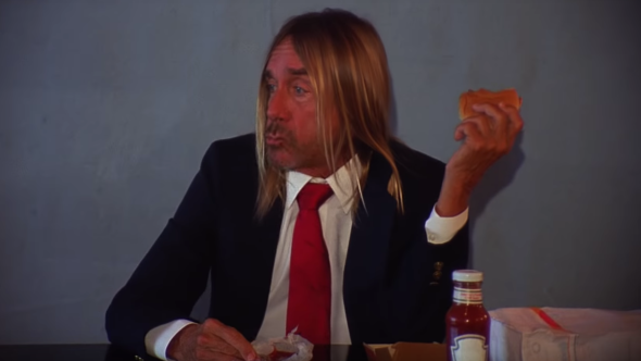 Iggy Pop Death Valley Girls Disaster (Is What We're After) Music Video Hamburger