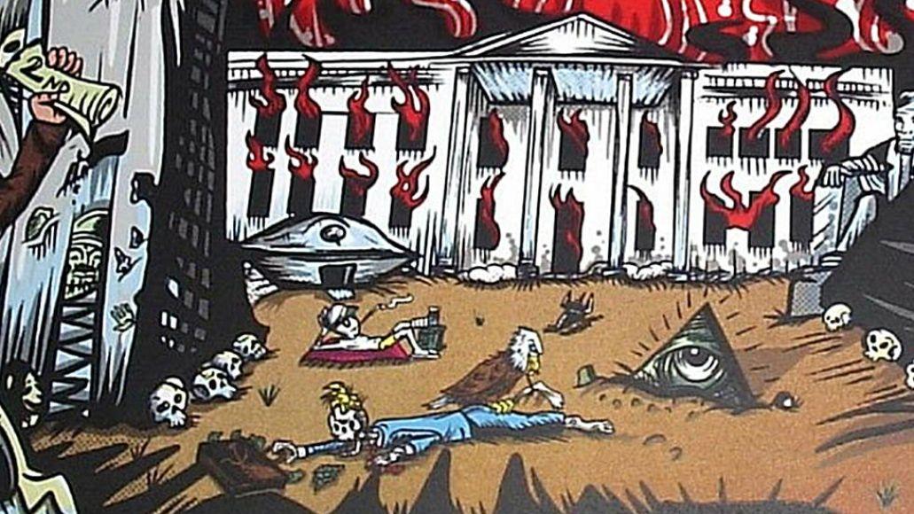 Pearl Jam's anti-Trump poster