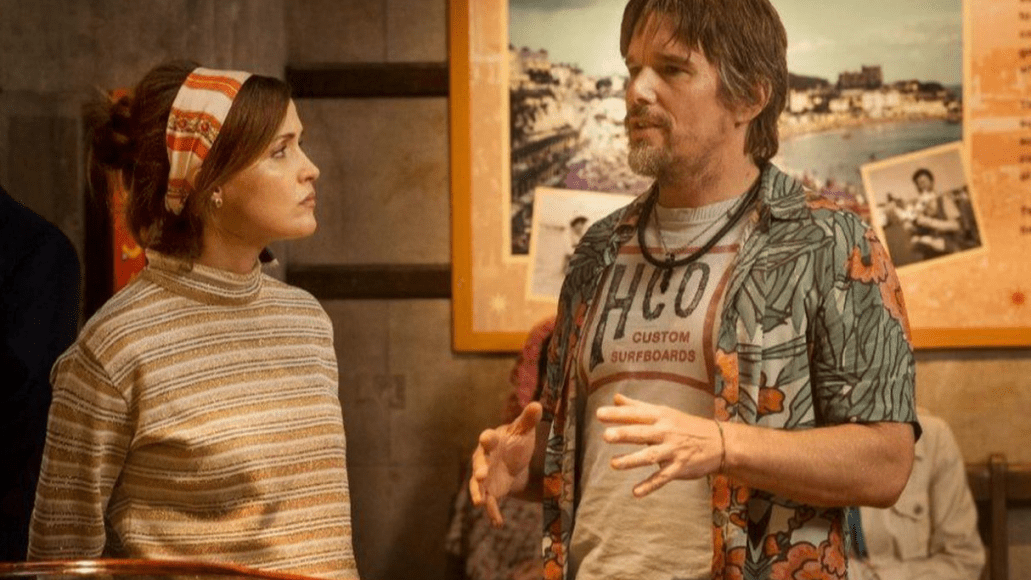Rose Byrne and Ethan Hawke, Juliet, Naked