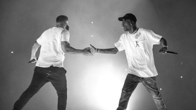 "Watch Drake and Travis Scott ""Sicko Mode"" Scotiabank Arena Toronto"