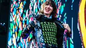 Yeah Yeah Yeahs, photo by Lior Phillips