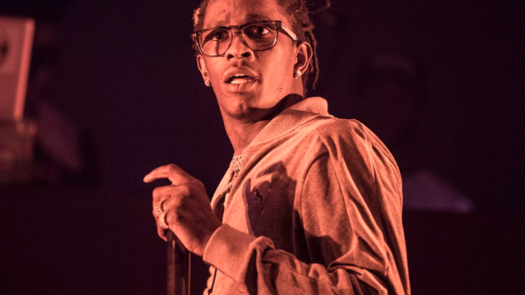 Young Thug arrested Dave Busters Slime Language birthday party