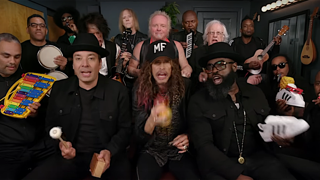 Aerosmith with Jimmy Fallon and The Roots