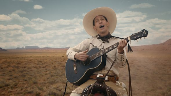 BUSTER SCRUGGS TRAILER coen brothers