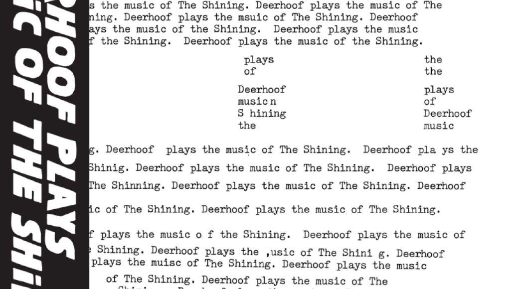 deerhoof shining artwork Deerhoof cover music from The Shining on new EP