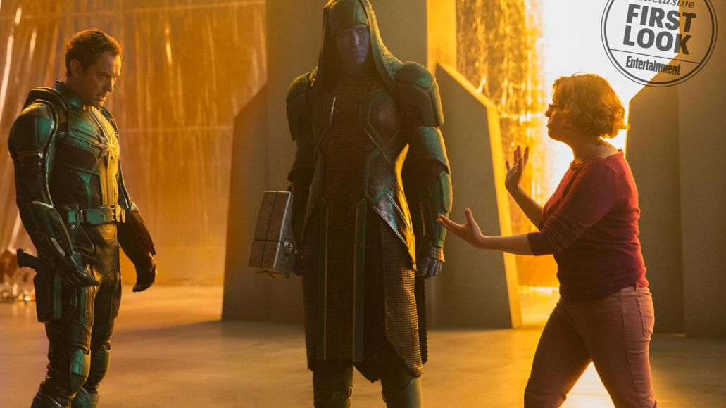Jude Law Mar-Vell Anna Boden Lee Pace Ronan the Accuser Captain Marvel