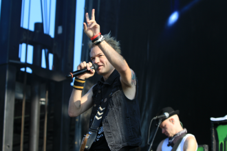 Sum 41, Riot Fest 2018, photo by Heather Kaplan