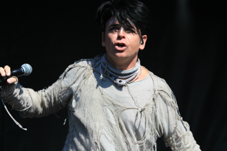 Gary Numan, Riot Fest 2018, photo by Heather Kaplan