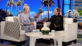 Lady Gaga on Ellen a Star is born
