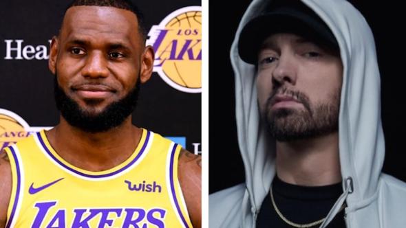 LeBron Eminem White Boy Wednesdays