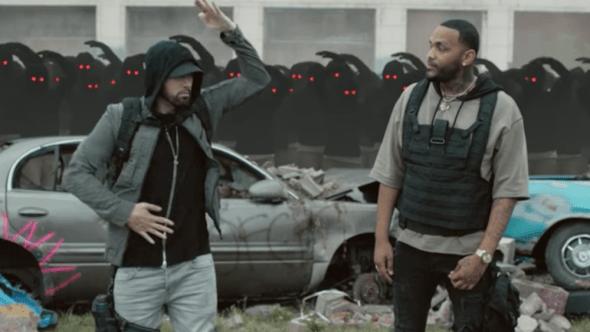 "Watch Eminem ""Lucky You"" music video"