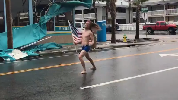 Metalhead faces Hurricane Florence