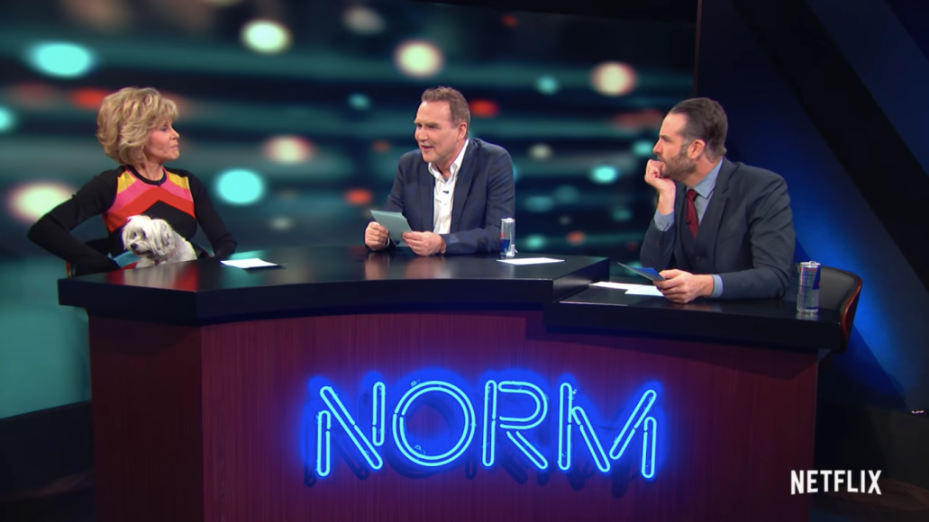 norm macdonald show netflix premiere trailer