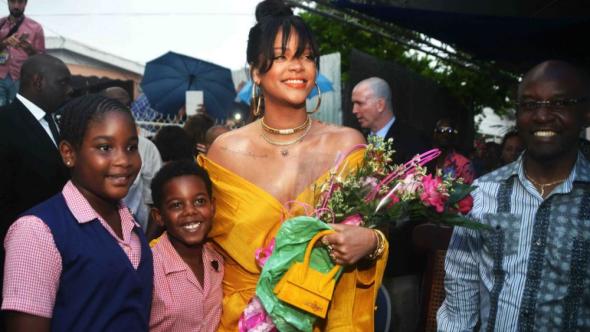 Rihanna, Ambassador of Barbados