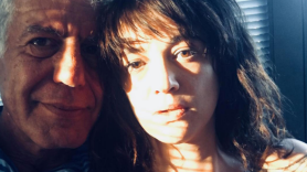 Anthony Bourdain and Asia Argento
