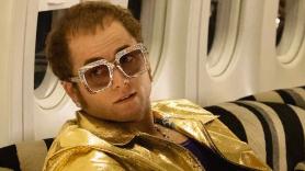Taron Edgerton as Elton John in Rocketman