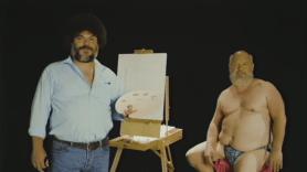 tenacious d kyle gass jack black bob ross painting