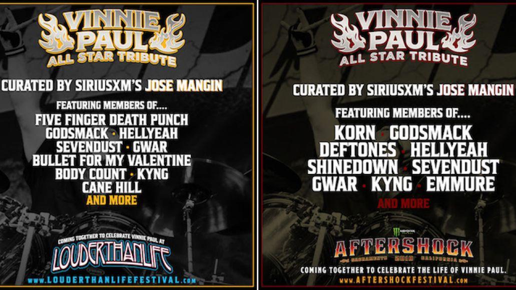 Vinnie Paul tributes