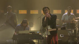 Arctic Monkeys One Point Perspective The Late Late Show with james Corden