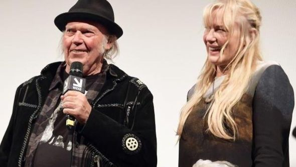Neil Young and Daryl Hannah