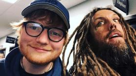 Ed Sheeran and Korn's Brian Head Welch