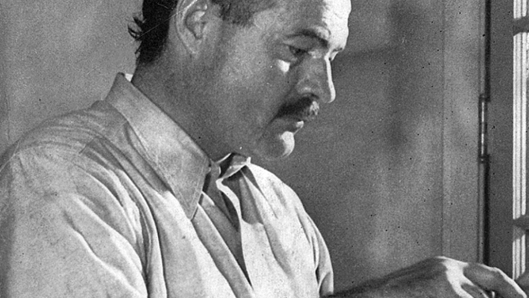 Ernest Hemingway Four Fists Origins 6666